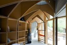 spaces / ideas about interior and exterior spaces