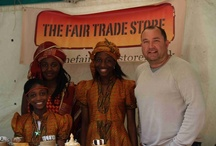 Getting Out and About / Showing what a busy life we lead setting up our Fair Trade stall at various craft fairs, home parties, school events, charity days, church fundraisers and retail events etc etc.  Phew!