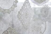 Fine lace crochet