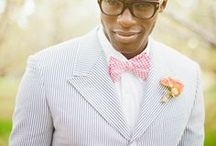 him. / groom style for the wedding day. handsome, classic, styled.