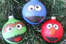 Christmas Inspiration / An assortment of unique, clever & creative #Christmas ideas to #paint at #TheMadPotter, #Houston.