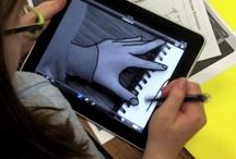 Collaborative Art on the iPad / by Chelsie Meyer