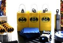 Batman Birthday Party / Batman birthday party ideas