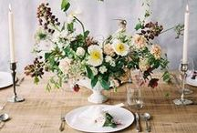tablescape. / table inspiration for your wedding day.