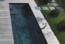 EXTERIOR   Pools / by Gaile Guevara