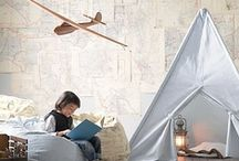 forts hideouts hammocks / cool little places to read in and daydream