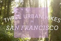 S F // A D V E N T U R E S / Where I want to go, what I want to do, all while living in SF.