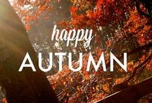 Why we love autumn / Our favourite autumn inspiration...
