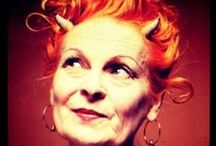 Vivienne Westwood / Happy birthday to this inimitable fashion icon. / by Damart UK