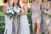 bridesmaid. / you couldn't get through your day without them! Bridesmaid style for your wedding day.