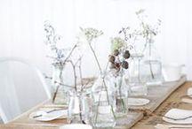 INSPIRATION-weddings / Wedding inspiration for a beautiful romantic wedding event