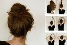 Hairstyles, Tips, and Tricks / by Rachael Hitt