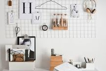 OFFICE + STUDIO / office, organisation, studio, work from home space