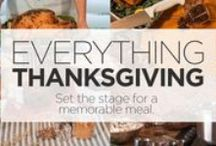 Thanksgiving Feast / Whether you're getting your restaurant prepped or your waiting for the in-laws to come over, we have all the tips your need right here. / by FSW.com