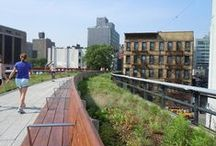 NYC Park - The High Line / On Manhatan's west side, from Ganvevoort str to 34th str. Created in 2006 - 5 million visitors a year -www.thehighline.org / by martine besseteaux
