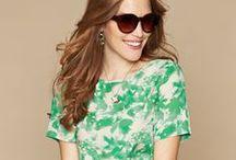 Go Green / Key Colour Trend - Go Green, Fashions Hot New Shade