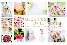 Blushing Bride Party / Party ideas inspired by On Parade Designs Blushing Bride Shower Invitation