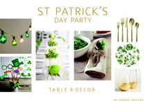St Patricks Day / Feelin' Irish? Here is our favorite party tips and tricks for St. Patrick's Day!