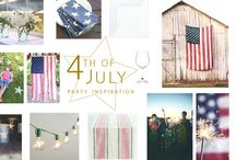 Happy 4th! / All the inspiration you need to host a fabulous Fourth of July party!