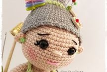 Mon blog :http://catscreacrochet.canalblog.com / tutoriel gratuit, dolls, amigurumis, ours...