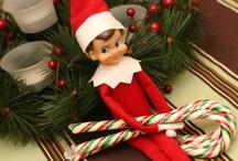 Elf on a Shelf / Elf on the Shelf Inspiration and Ideas
