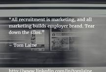 Social media recruitment & HR / Social media recruitment, HR, employer branding, job searching, personal branding and talent and employment trends  ** Looking for social media recruitment advice or support? Contact me at tom.laine@somehow.fi. Read more about me at https://www.linkedin.com/in/tomlaine