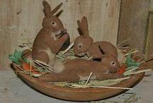Primitive Rabbits (Bunnies) / by Terri Kroth