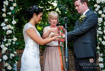 Hand Fasting Ceremony / Photography from wedding with hand fasting ceremony, by Rachael Pereira Photography