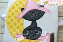 Trendy Stitch Designs / Applique and Embroidery Designs / by Jessica Lunz