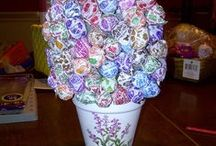 Candy Bouquets / Gift ideas for candy lovers.