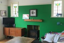 Interiors & Home / UK Interiors, Worthing, 1920's, Edwardian, paint, wallpaper, junk shops, mid century