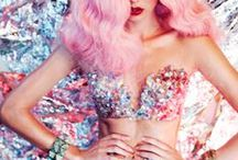 Crop it out / Short:Sweet::Crisp:Crop + sequins, pastel & sheer |Visual Style in Fashion Media|