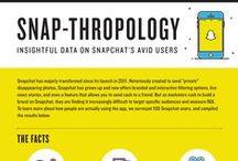Snapchat infographics / Snapchat infographics