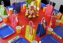 Birthday Parties-Boys / Birthday party inspiration for my 3 boys! / by Kari Fischer