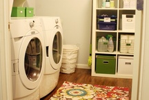 Laundry Love / Inspiration for laundry room decor, tips and tricks, and recipes for laundry soap, fabric softener, etc.