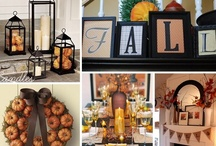 Fall / Decorating, food and drink ideas, and more for my favorite season!