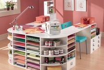 Craft Room Inspiration / Taming the craft monster....so hard to do but can be so beautiful too!