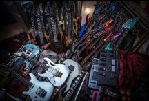 Gear / Gear. Always under a severe G.A.S. addiction. The world of guitar gear is my toy shop! / by Stef Imperiale ☠☆