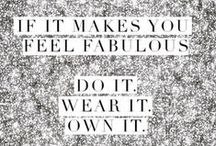 Fashion Quotes / The Nina Shoes team picks their favorite fashion and style quotes.  / by Nina Shoes