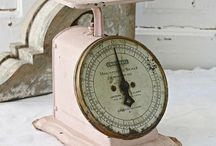 Weigh Me- Scales / Vintage scales / by Yuki and Alice