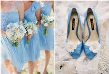 Something Blue / Searching for the perfect Something Blue? The Nina Shoes team puts together the top picks for something blue wedding ideas and bridal shower ideas from the Nina Bridal collection. / by Nina Shoes