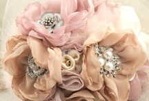 Brooch, Pearl & Fabric Bouquet / by Nazlin Hazhar