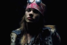 W. Axl Rose / The greatest rock singer and frontman ever, ... in the eighties when he was an idol of mine ,... ; ) / by Stef Imperiale ☠☆