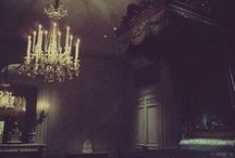 Dark and Decadent Dream House / The home of my desire. Things that I covet and treasure, along with ideas.. / by Kuro 黒猫 の先生