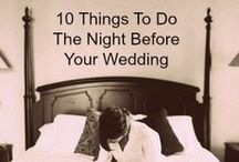 Wedding tips, hints and fun items! / Some helpful hints, dos and don'ts to help you along the way of planning...also some fun items that will make your wedding unique