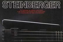 Steinberger / Ned Steinberger is the only man who introduced some important radical visions in guitar making since Leo Fender and Les Paul.  / by Stef Imperiale ☠☆