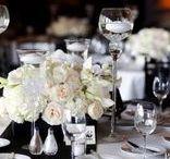 Mariage ivoire noir blanc {Black, ivory & white wedding} / Carnet d'inspiration mariage baroque ivoire noir blanc Mademoiselle Cereza
