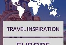Europe Travel Inspiration / Inspiration for your next trip to Europe!
