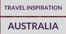 Australia Travel Inspiration / Inspiration for your next trip to Australia! All things Australia travel related