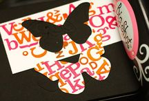 A crafty one::: paper / Scrapping and card making
